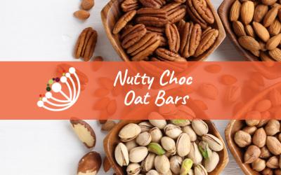 Nutty Choc Oat Bars