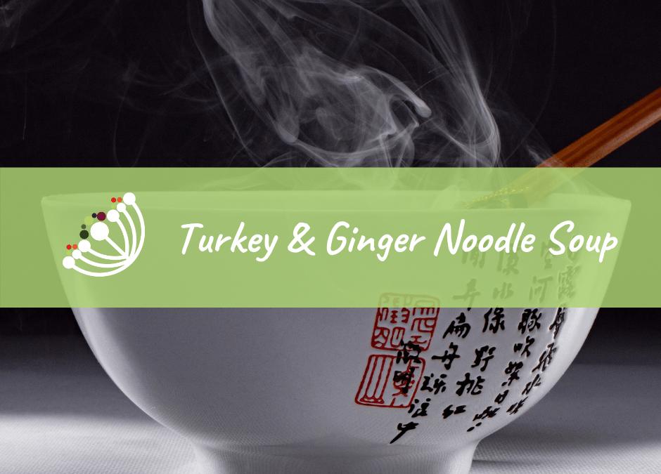 Turkey & Ginger Noodle Soup
